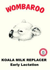 Koala Milk Replacer early Lactation