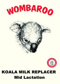 Koala Milk Replacer Mid Lactation