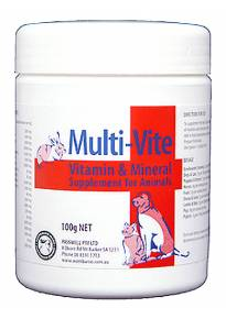Multi-vite for Animals